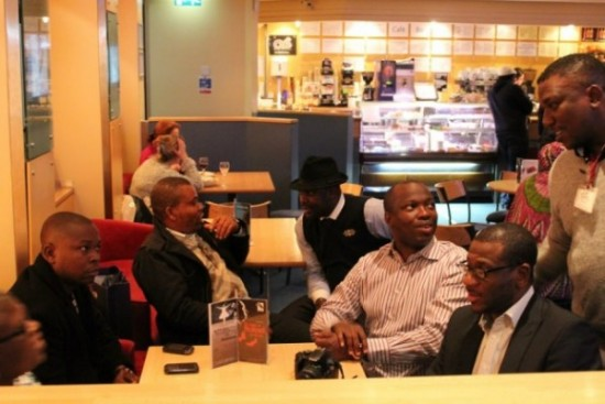 Cross section of the Nollywood Delegates in Scotland