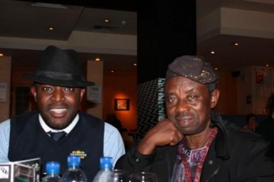 With Mr. Tunde Kelani