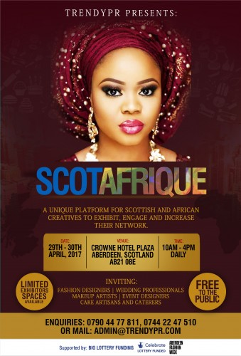 SCOTAFRIQUE flyer design african latest Fa-2